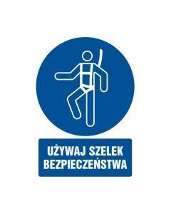 Używaj szelek bezpieczeństwa