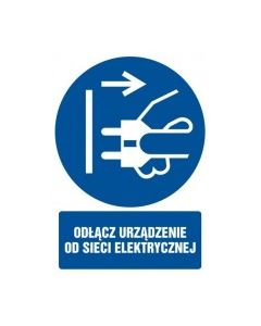 Odłącz urządzenie od sieci elektrycznej