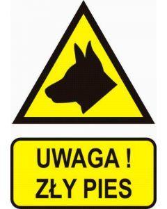 Uwaga! Zły pies