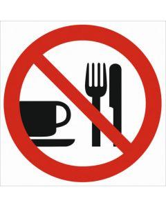 Zakaz spożywania posiłków