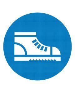Nakaz stosowania obuwia ochronnego