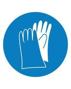 Nakaz stosowania rękawic ochronnych