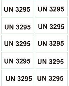 UN 3295 arkusz 1000 sztuk.