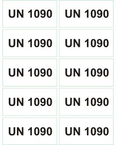UN 1090 arkusz 1000 sztuk.