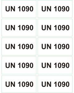 UN 1090 arkusz