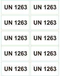 UN 1263 arkusz