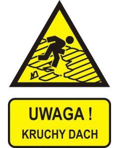 Uwaga! Kruchy dach