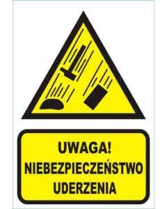 Uwaga! Niebezpieczeństwo uderzenia
