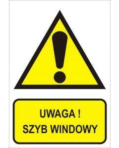 Uwaga! Szyb windowy