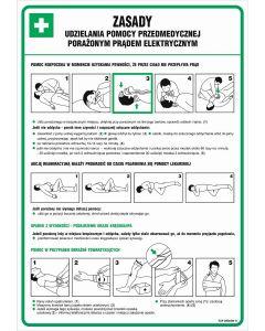 Zasady udzielania pomocy przedmedycznej porażonym prądem elektrycznym