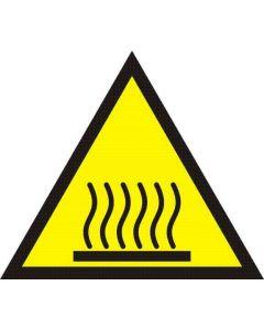 Uwaga gorąca powierzchnia