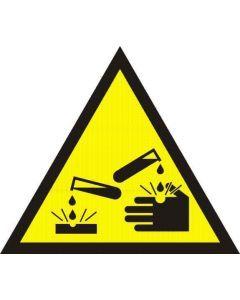 Uwaga substancje żrące