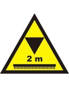 Uwaga wysokość ograniczona do 2m